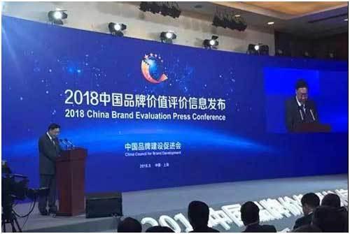 """伟星新材荣登""""中国品牌价值排行榜"""""""